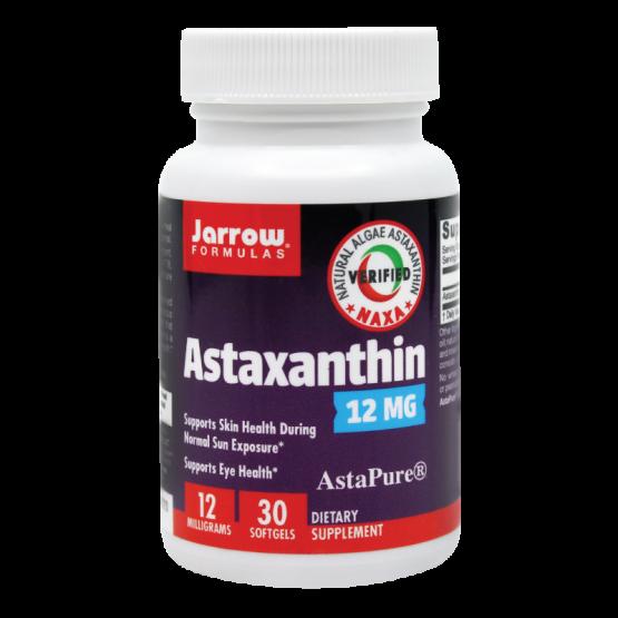 Astaxanthin forte – 12 mg – 30 capsule de origine vegetala
