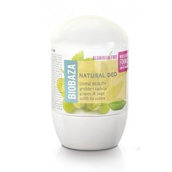 Deodorant cu bicarbonat piele sensibila DIVINE (salvie si struguri) - BIOBAZA