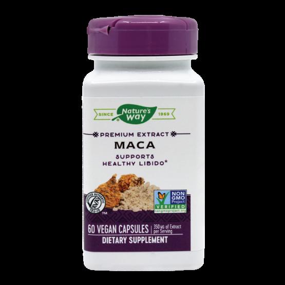 Maca SE, Nature's Way, 60 capsule vegetale
