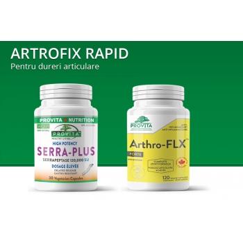 Protocol ARTROFIX-Rapid: pentru dureri articulare