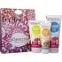 Set Cadou Rodie & Trandafir (lotiune corp, gel de dus, crema maini) - Benecos