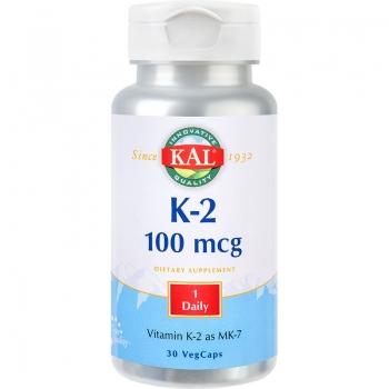 Vitamin K-2 100mcg 30cps - Secom