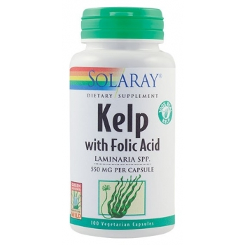 Kelp 550 mcg - 100 capsule vegetale - Solaray