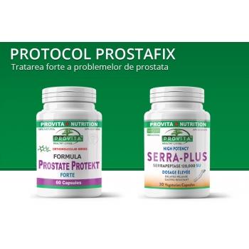 Protocol Prostafix - Pentru o prostata sanatoasa / PROVITA