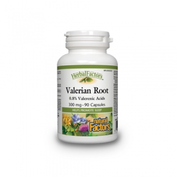 Valeriana Forte - 300 mg - 90 capsule / Herbal Factors