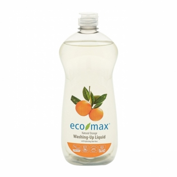 Solutie spalat vase, cu portocale si aloe vera, Ecomax 740 ml
