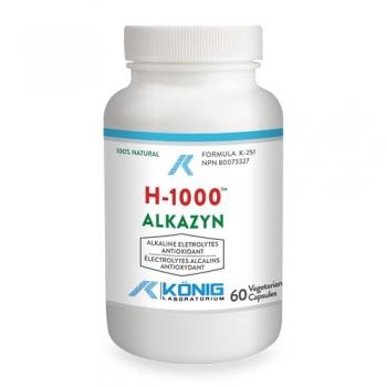H-1000 ALKAZYN -  60 capsule de origine vegetala- Konig
