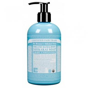 Sapun lichid cu pompa Shikakai Inodor, pentru bebelusi si piele sensibila – 355 ml