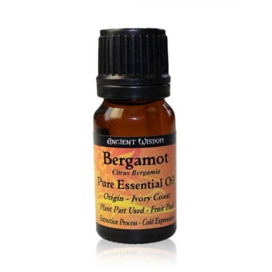 Ulei esential de Bergamot fara bergapten (Citrus Bergamia),  10ml - Ancient Wisdom