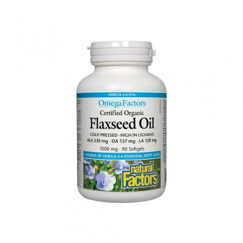 ULEI DE IN BIOLOGIC - CANADIAN FLAXSEED OIL  -