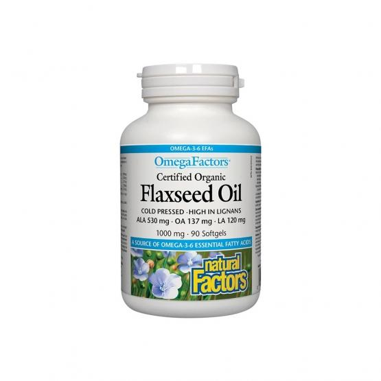 ULEI DE IN BIOLOGIC - CANADIAN FLAXSEED OIL  -