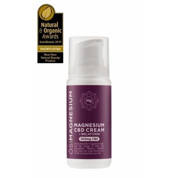 Crema de noapte pt ten, puternic antioxidanta cu magneziu, CBD (cannabis) si melatonina , Osi Magnesium 300mg