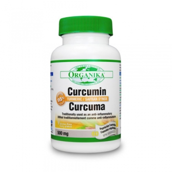 CURCUMIN – EXTRACT DIN RĂDĂCINA DE CURCUMA (TURMERIC) - 500mg - 60 cps