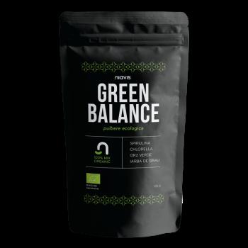Green Balance (Grau+Spirulina+Chlorella+Orz Verde)- Mix Ecologic 125g