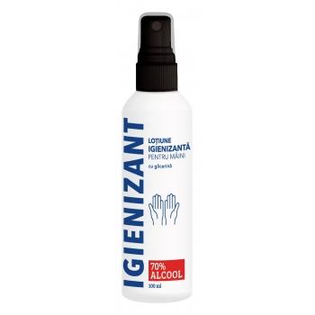 Loțiune igienizantă( antibacteriana)  pentru mâini - 100 ml - Cosmetic plant
