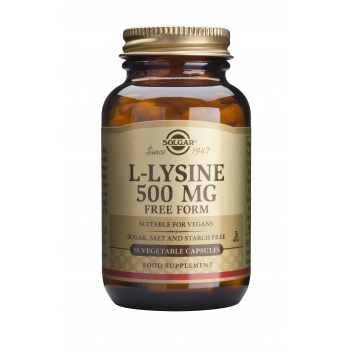 L-Lysine 500mg 50 veg caps