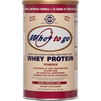 Whey to Go Protein Chocolate  powder 454gr