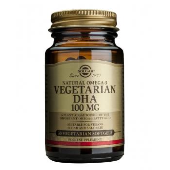Vegetarian DHA 100mg softgels 30s