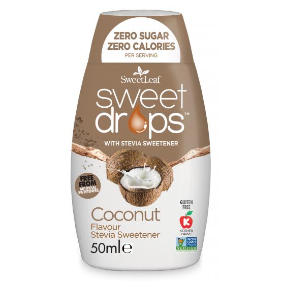 Sweet Drops - Indulcitor Stevie cu Cocos 50ml