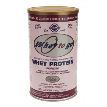 Whey to Go Protein Strawberry Powder 454g