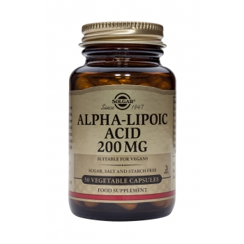 Alpha Lipoic Acid 200mg 50 caps