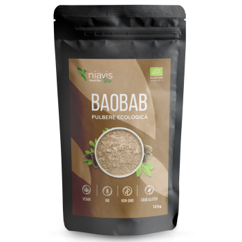 Baobab Pulbere Ecologica/Bio 125g