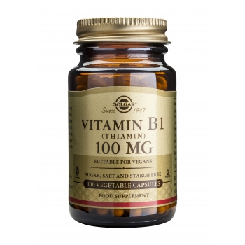 Vitamin B1 100mg 100 veg.caps.