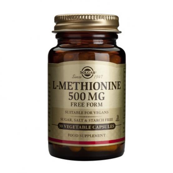 L-METHIONINE 500mg 30cps