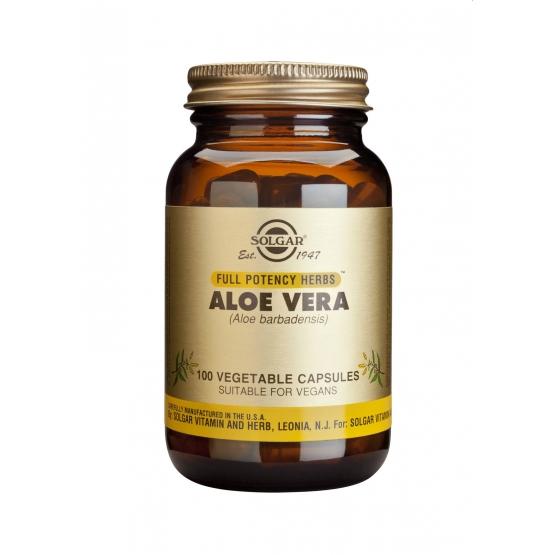 Aloe Vera veg. caps 100s