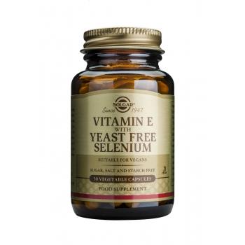 Vitamin E+ Selenium 50 veg. cps.