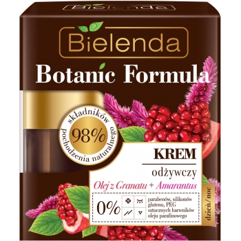 BOTANIC FORMULA Crema Hranitoare cu Ulei de Rodie si Amarant de zi/noapte 50ml