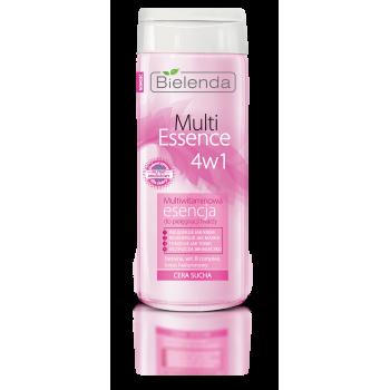 Multi Essence 4 in 1 Lotiune Tonica cu Multivitamine pentru Ten Uscat si Sensibil 200ml