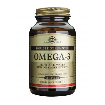 Omega-3 dublu concentrate- 60cps