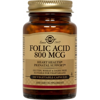 Folacin (Folic Acid) 800μg 100 tablete