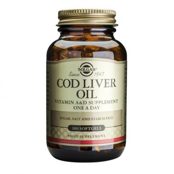 Cod Liver Oil 100cps moi