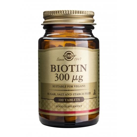 Biotin 300mcg 100 tablete