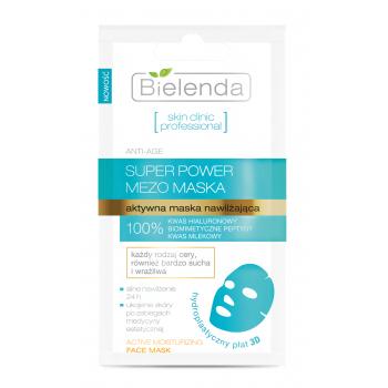 SKIN CLINIC PROFESSIONAL Masca de fata hydroplastica cu Peptide biomimetice È™i Acid Hialuronic 10g