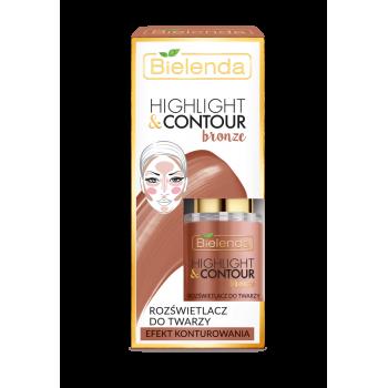 HIGHLIGHT & CONTOUR Crema Iluminatoare cu Efect de Conturare - BRONZE 15ml