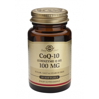 Coenzime Q-10 100mg 30 softgels