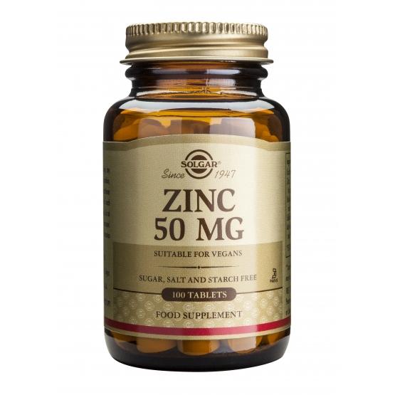 Zinc Gluconate 50mg 100 tablete