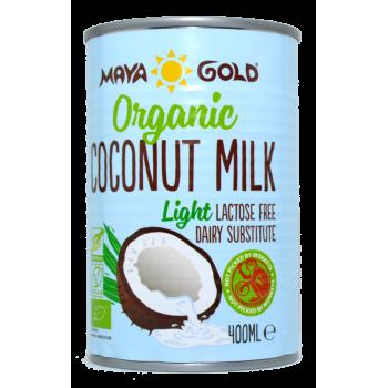Lapte de Cocos Light grasime 6% Ecologic 400ml