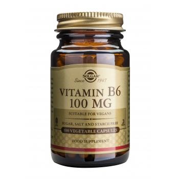 Vitamin B-6 100mg 100 veg caps