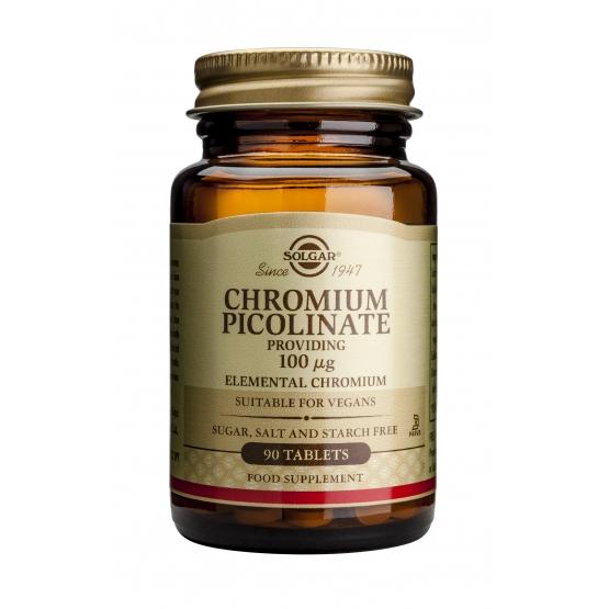 Chromium Picolinate 100mg 90 tablete
