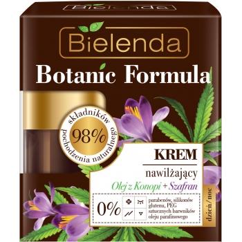 BOTANIC FORMULA Crema Hidratanta cu Ulei de Canepa si Sofran zi/noapte 50ml