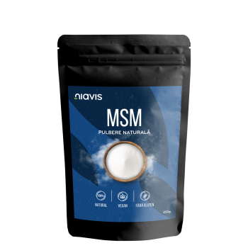 MSM Pulbere 100% Naturala 250g