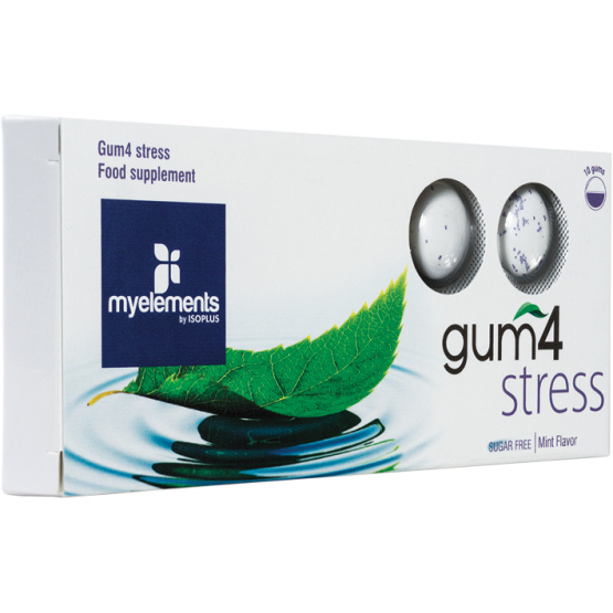 GUM4 STRESS - Guma De Mestecat Fara Zahar 10buc