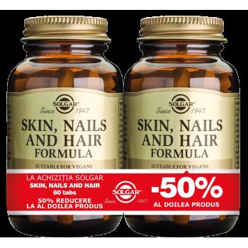 Skin Nails and Hair Formula 60 tablete PACHET 1+1-50%