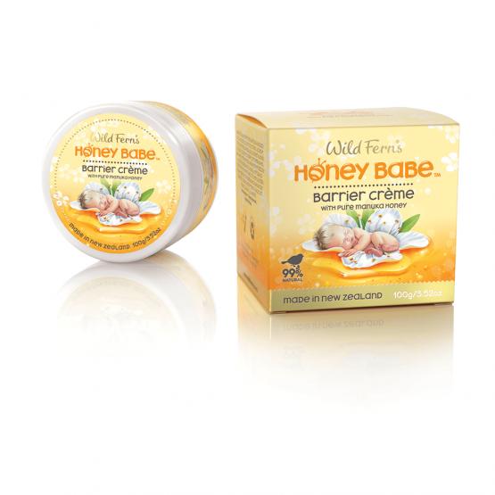 Honey Babe - Crema protectoare scutec cu Miere de Manuka 100g