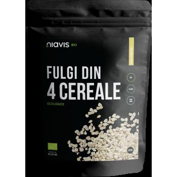 Fulgi din 4 Cereale Ecologice/BIO 350g