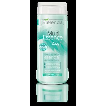 Multi Essence 4 in 1 Lotiune Tonica cu Multivitamine pentru Ten Mixt sau Gras 200ml